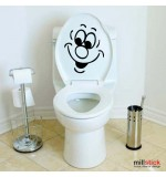 Sticker wc smile WBF044