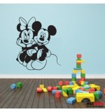 Sticker Minnie and Mickey Mouse WCWD22