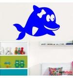 wallstickers delfin