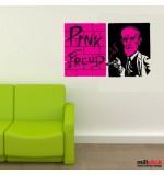 Wall sticker Pink Freud WLBS09