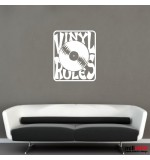 Wall sticker vinyl rules WLBS10