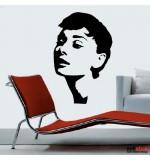 Sticker Audrey Hepburn WLCB25