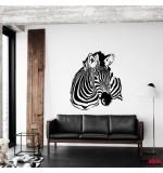 autocolant de perete zebra