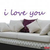 Sticker i love you WLT203