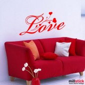 Sticker love WLT210