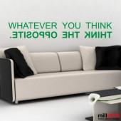 Sticker think opposite WLT228
