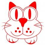 Sticker pisicuta WCA406