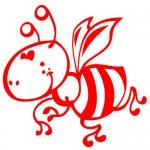 Sticker albinuta haioasa WCA415