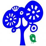 Sticker copac cu pasare WCA808