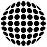 Sticker cerc de cercuri WLR006