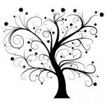 Autocolant perete copac WLC109