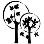 Sticker copaci WLC325