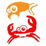 Sticker crabi WCA504