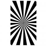 Sticker dreptunghi de linii WLR015