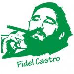 Sticker Fidel Castro WLCB12