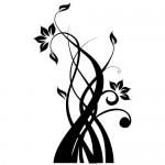 Stickere floare WLF418