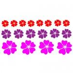 Stickere floricele WLF512