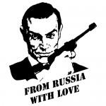 Sticker James Bond WLCB13