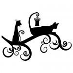Stickere pisici WLAN26