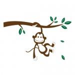 Sticker maimuta WCA834