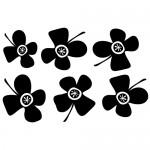 Sticker laptop floricele WL0005
