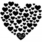 Sticker  you're my heart WLES22